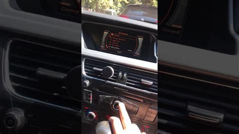 Audi A4 B8 Aux by Activate Aux On Audi A4 B8