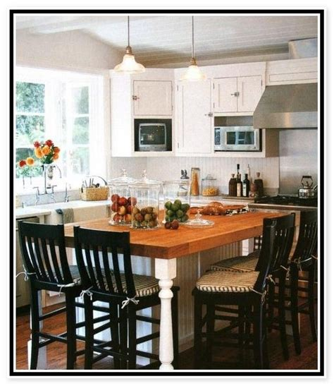 kitchen island table combo kitchen pinterest kitchen