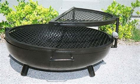 triyae backyard pit grill various design