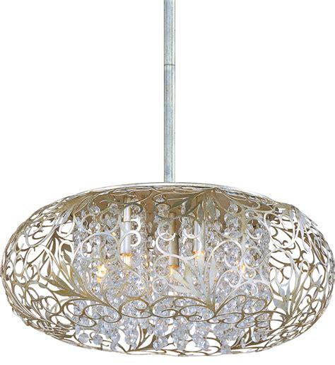 Silver Light Pendants Maxim Lighting 24154bcgs Arabesque Golden Silver 7 Light Pendant Ls
