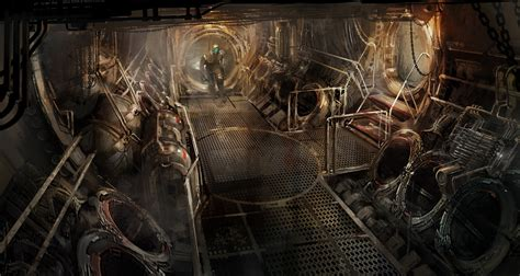 concept art interior on pinterest rpg dead space and cyberpunk patrick o keefe concept art world