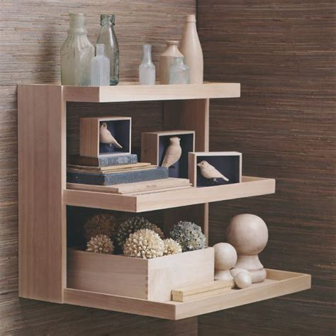 the akari wall mount shelving display