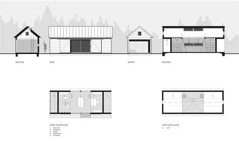 House Plans For A View gallery of long studio 30x40 design workshop 13