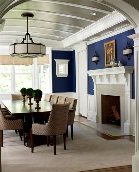navy blue dining room decorating with navy blue town country living