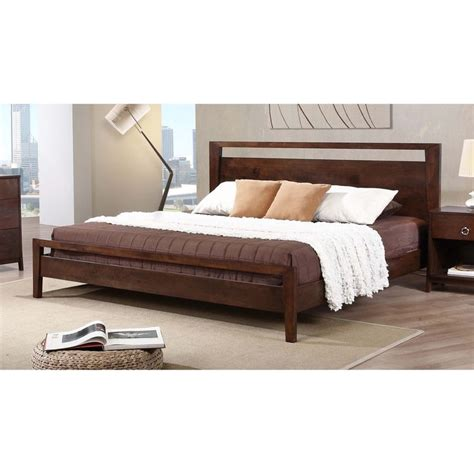 platform bed king size pinterest