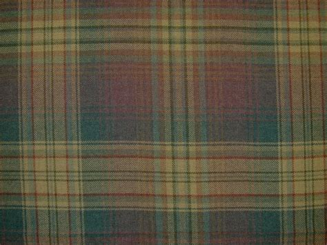 Tartan Plaid Upholstery Fabric by 100 Wool Tartan Plaid Mauve Fabric Curtain Upholstery