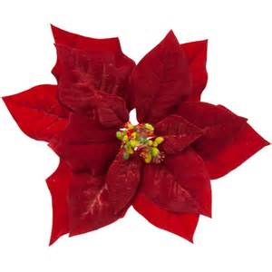 Dining Room Curtain Ideas red velvet poinsettia flower 16cm party decorations