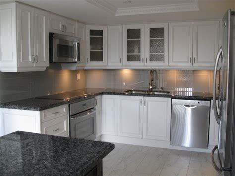 kitchen black granite interiors design