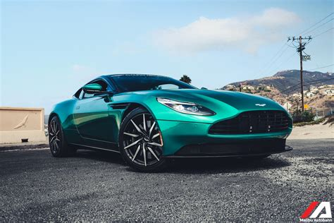 green aston martin db11 overview for penguinhomey