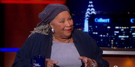 the the colbert report 2014 05 21 toni morrison breaks down the reality of race on the