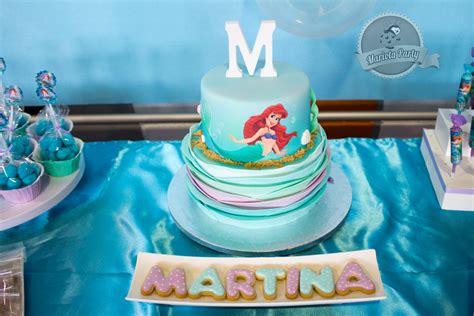 como decorar un pastel de la sirenita ariel mariota party