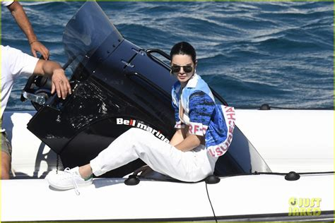 boating accident in greece kendall jenner bella hadid take a girls trip to greece