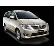 Toyota Innova 2012 New Model Launched In India At Auto Expo