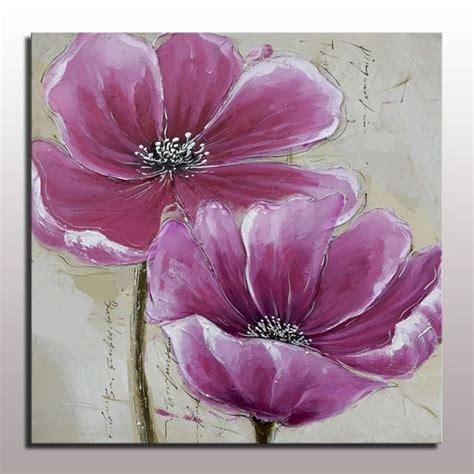 imagenes flores pintadas flor de la pintura al 211 leo para colgar en la pared de la