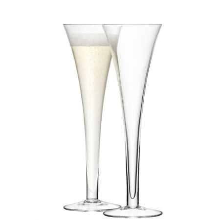 Stem Zoom Hollow 31 8 hollow stem flute x 2 clear handmade glass bar