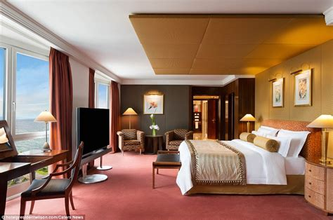 bid on hotel room inside world s most expensive hotel room on lake geneva
