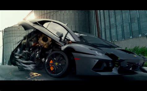 Lamborghini Transformers 4 Lamborghini Aventador Aparece Em Novo Trailer De