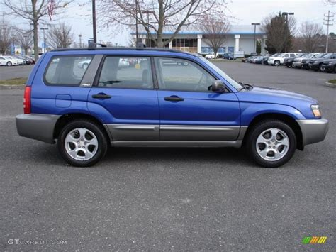 blue subaru forester 2003 2003 pacifica blue metallic subaru forester 2 5 xs