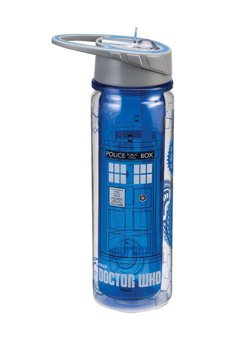 Tritan Water Bottle Botol Infus Water dr who tardis 18oz tritan water bottle