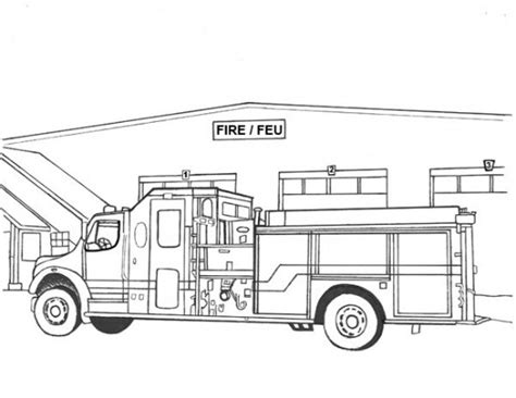 Kids Coloring Pages Random Lake Fire Department Department Coloring Pages