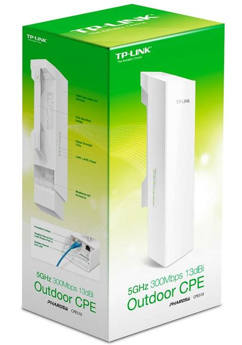 Cpe Outdoor Tp Link 5ghz 300mbps 16dbi tp link cpe510 5ghz 300mbps 13dbi outdoor cpe access point up to 27dbm 2t2r 802 11a n 16dbi