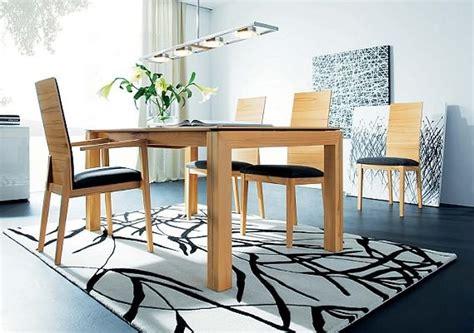 esszimmer tische möbel bilderwand esszimmer design
