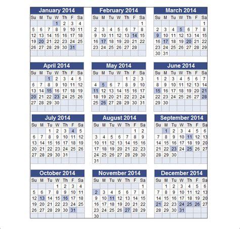 perpetual calendar template 16 word calendar templates free free premium