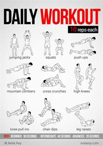 easy workouts to do at home easy daily workout health lifestyle a