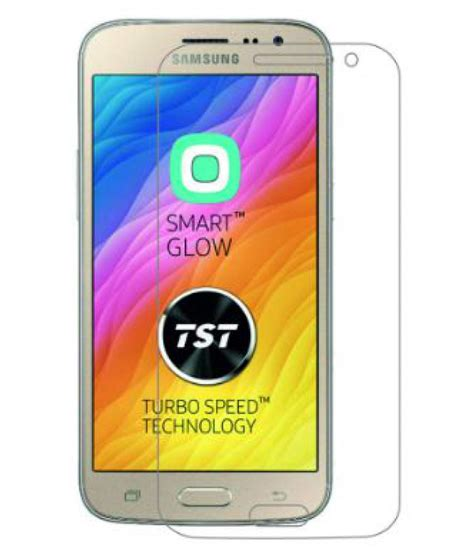 Tempered Glass Galaxy J2 Bluelight samsung galaxy j2 2016 tempered glass screen guard by coskart mobile screen guards at