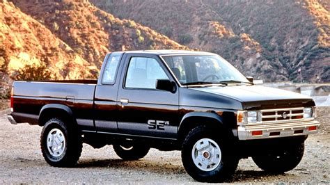nissan blue truck nissan truck se v6 4x4 king cab d21 1990 91