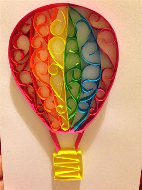Handmade Balloons - 17 best images about quilled are balloon on