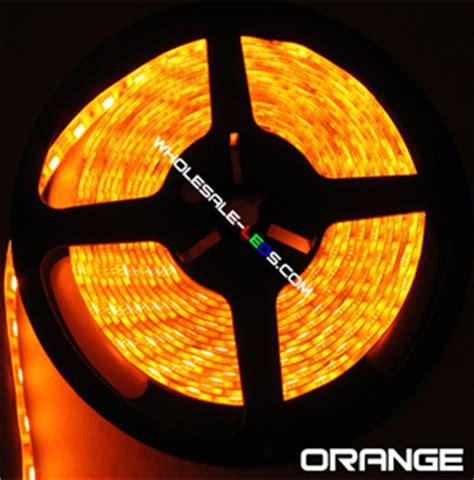 Orange Led Light Strips Novabright 5054smd Bright Orange Led Light 16 Ft Reel Only