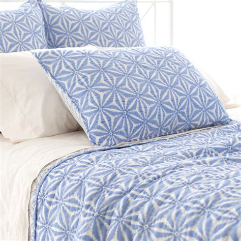 french blue bedding varkala french blue quilt by pine cone hill