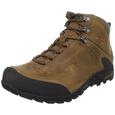 best mens hiking boots teva men s riva leather mid event waterproof hiking boot
