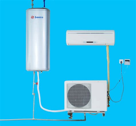hybrid water heater with air conditioner function