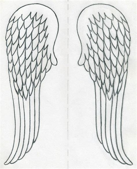 Drawing Wings by How To Draw Wings Quickly In Few Easy Steps