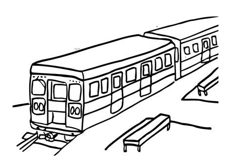 imagenes para colorear un tren dibujo para colorear tren img 12303