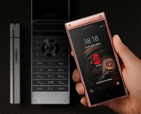 samsung w2019 launched flagship flip phone with snapdragon 845 soc slashinfo
