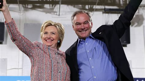 Clinton Picks Caign Song by Clinton Vice President Coming Soon Tim Kaine