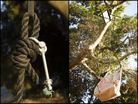 how to attach a swing to a tree branch rope swing with monkey s fist 6 steps with pictures