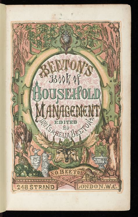 mrs miggins book of books mrs beeton s book of household management wikiwand