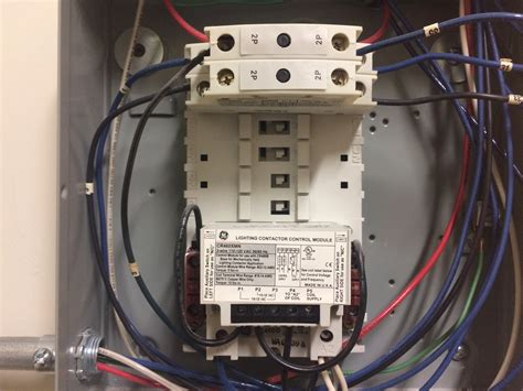 how to wire contactor electrician talk professional