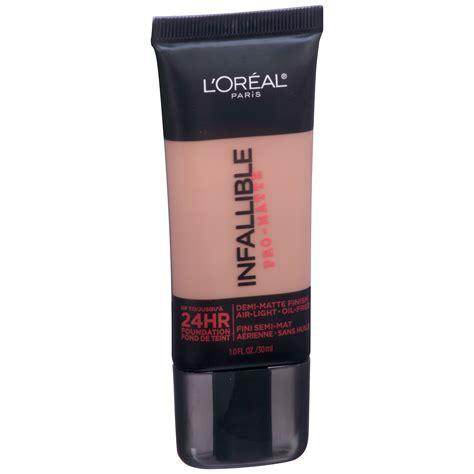 L Oreal Infallible Pro Matte Foundation l oreal infallible pro matte liquid foundation
