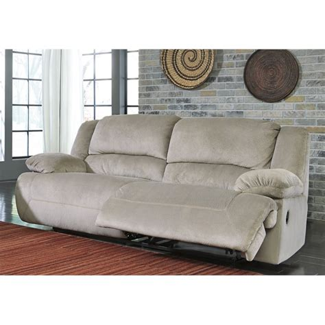 toletta fabric two seat power reclining sofa in