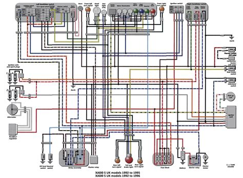 yamaha seca 2 wiring diagram wiring diagram with description