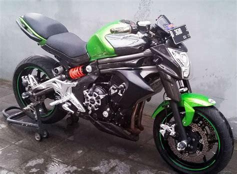 Tutup Oli Mesin Hawa Suzuki Warna Biru Variasi Motor Racing Modifikasi kawasaki er6n green fa jual motor kawasaki versys bandung