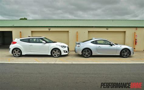 Toyota Veloster Hyundai Veloster Sr Turbo Vs Toyota 86 Gts Comparison