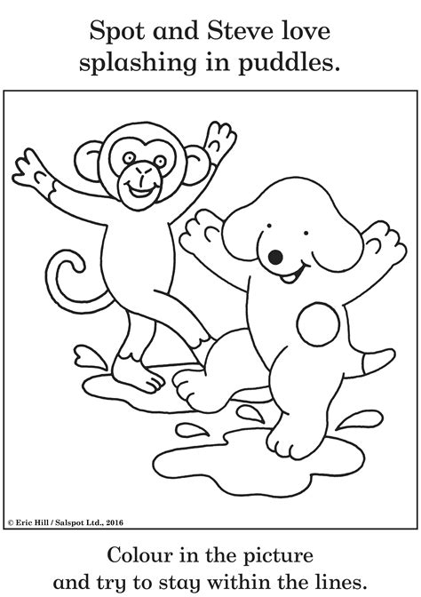 coloring pictures of spot the and 183 with spot