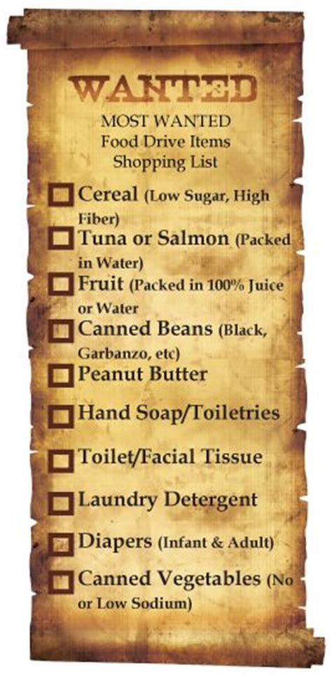 Most Needed Food Pantry Items by Pittsburgh Community Food Bank S Most Wanted Food Drive