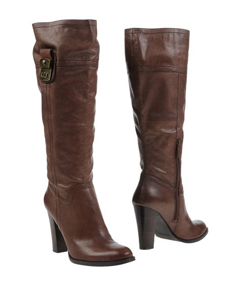 Celana Bigsize Soft Nine West nine west boots in brown lyst